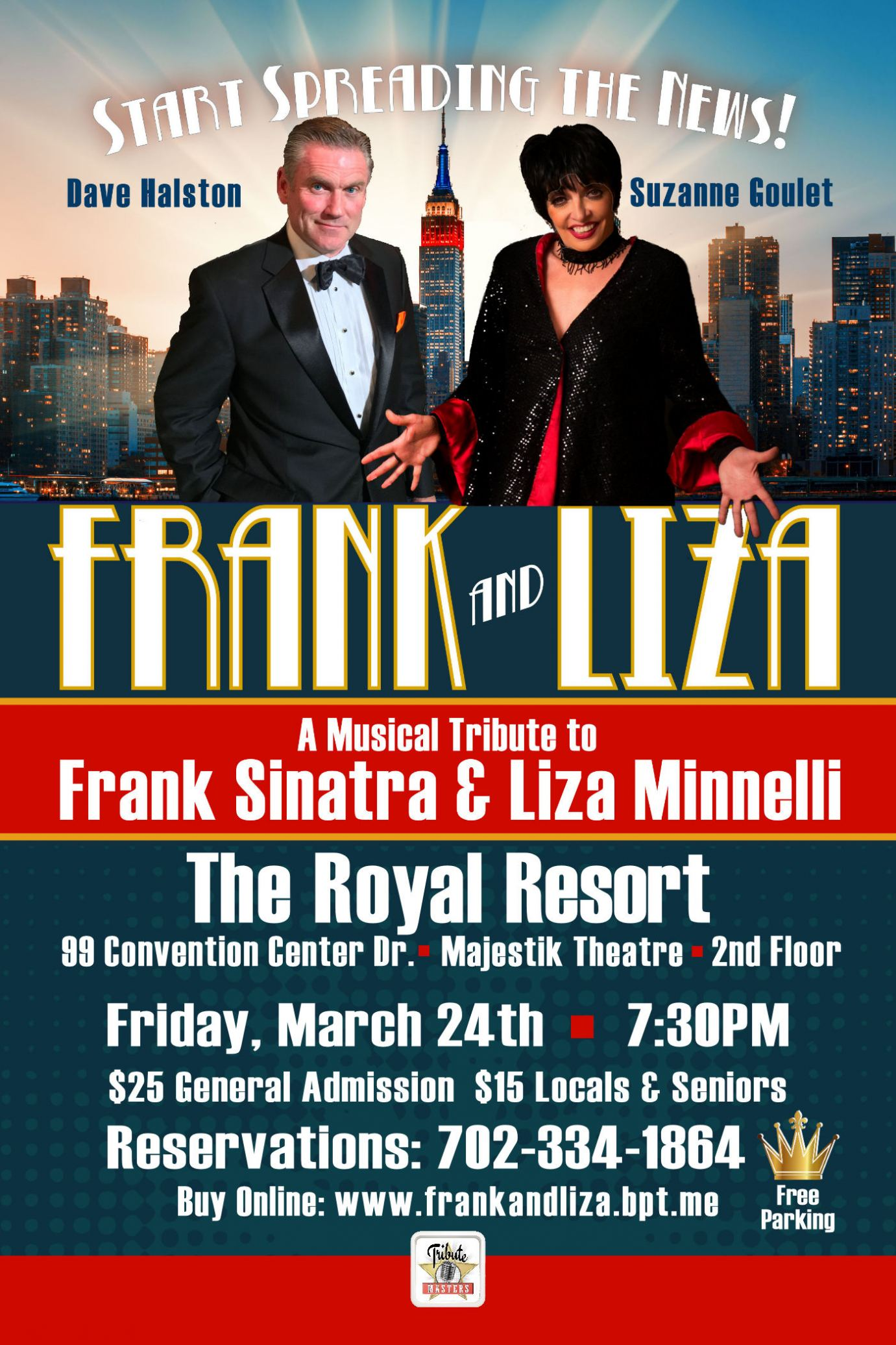 """Frank & Liza"" at the Royal Resort"