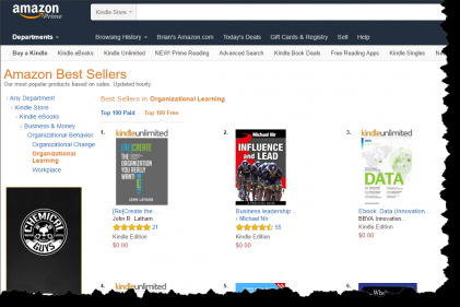 Amazon Bestseller Screenshot