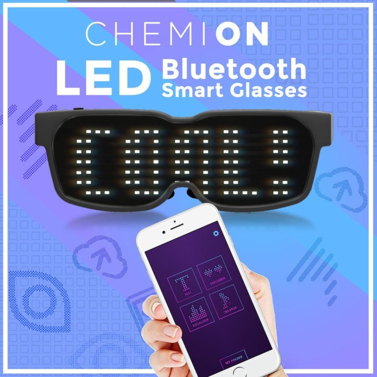 CHEMION LED Glasses