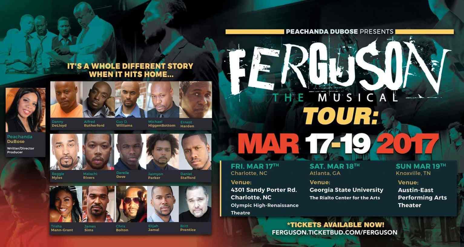 Ferguson the Musical Tour