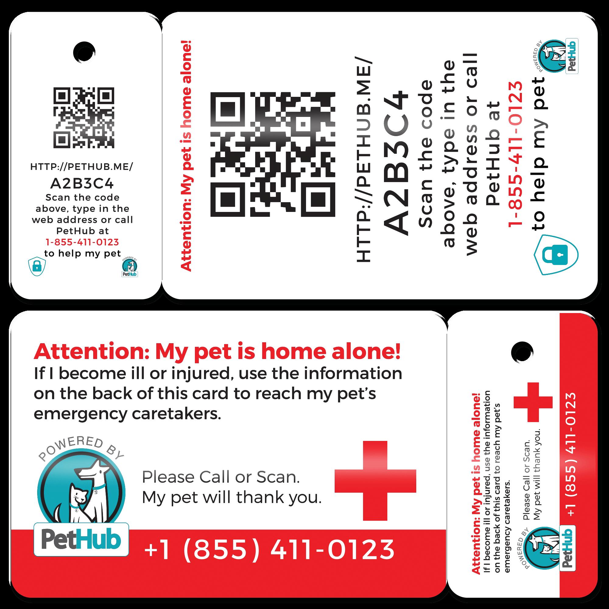 Pethub wallet card