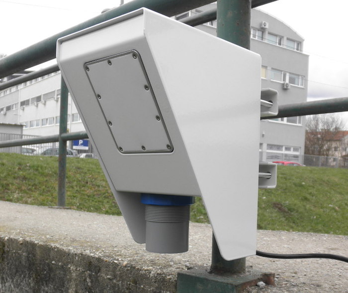 Water Velocity Meter : Geolux launches contactless sensor for measuring water
