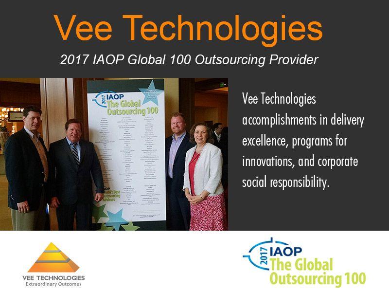 Vee Technologies-2017-IAOP-Global-100-Outsourcing-