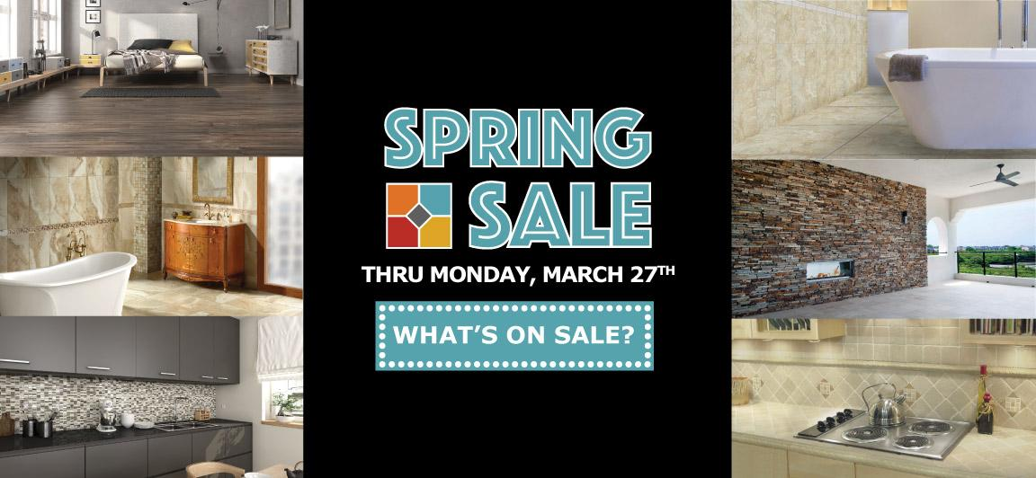 Save Up to 90% During the Spring Sale Event at Tile Outlets of America