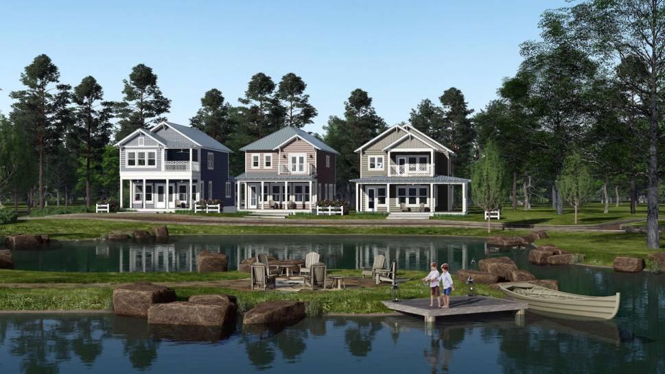 Long Cove Unveils Plans For New Porch Homes Long Cove