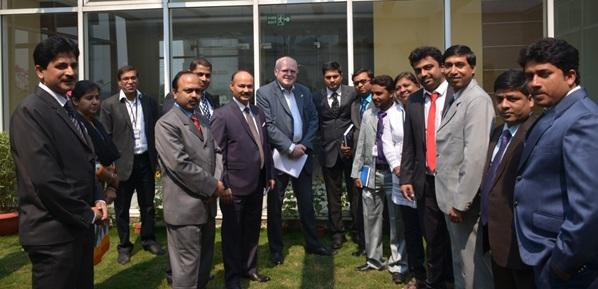 German consul Mr. Olaf Iversen with Pinnacle BIM Team