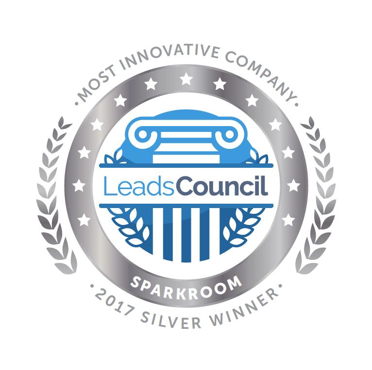Sparkroom Silver Most Innovative Company