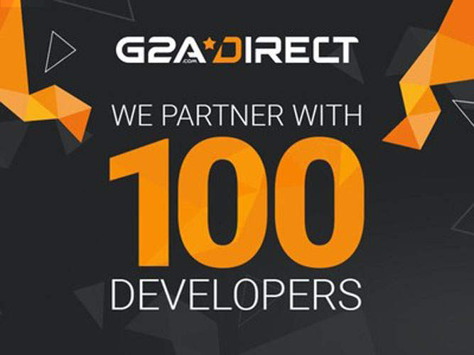G2A Direct 100 Developers image