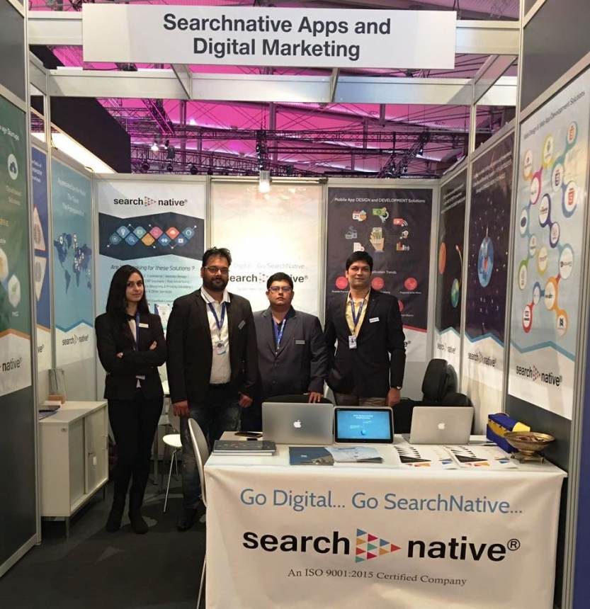 SearchNative Team at CeBIT, Germany