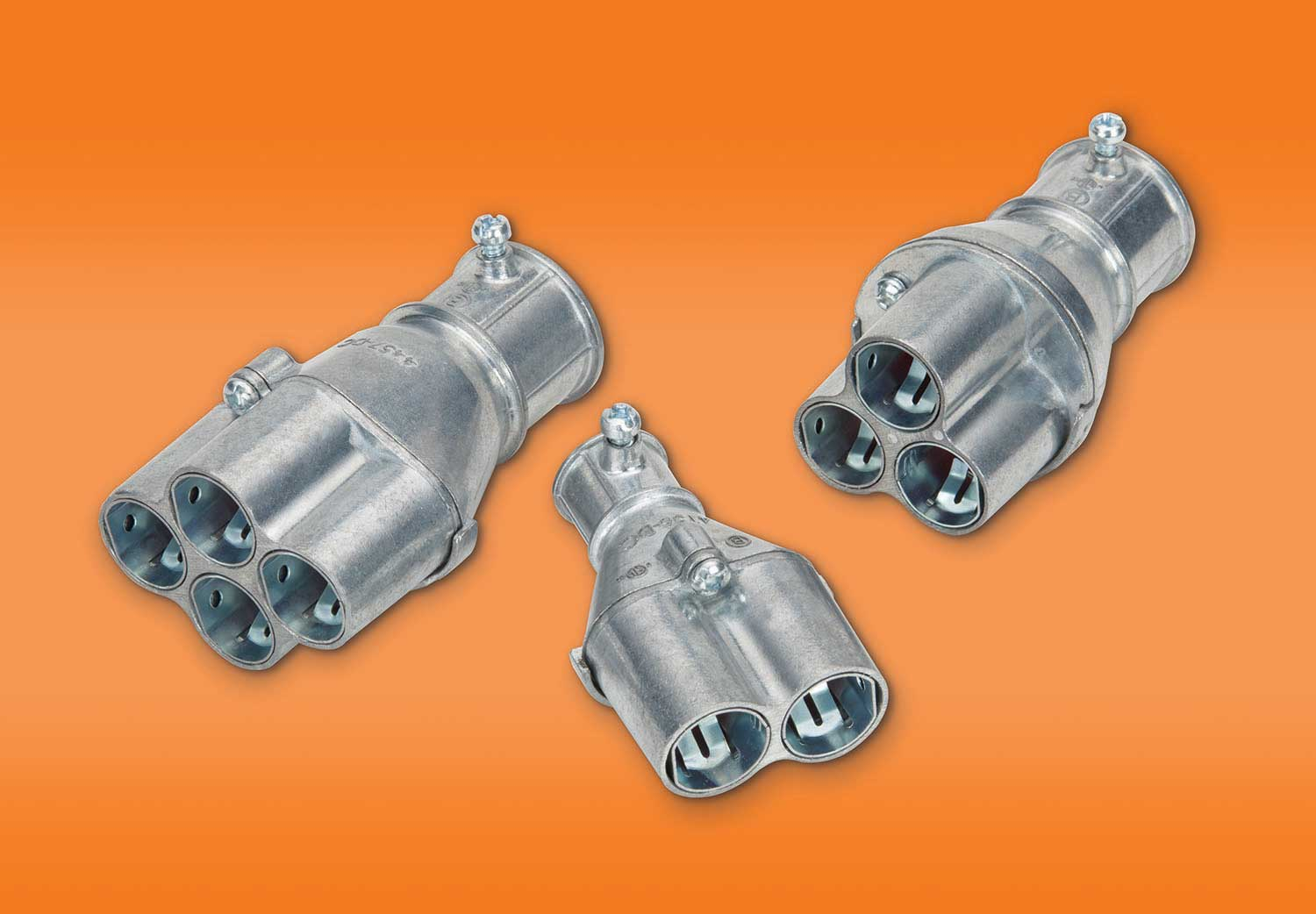 Bridgeport's family of Mighty-Merge multi-port transition fittings