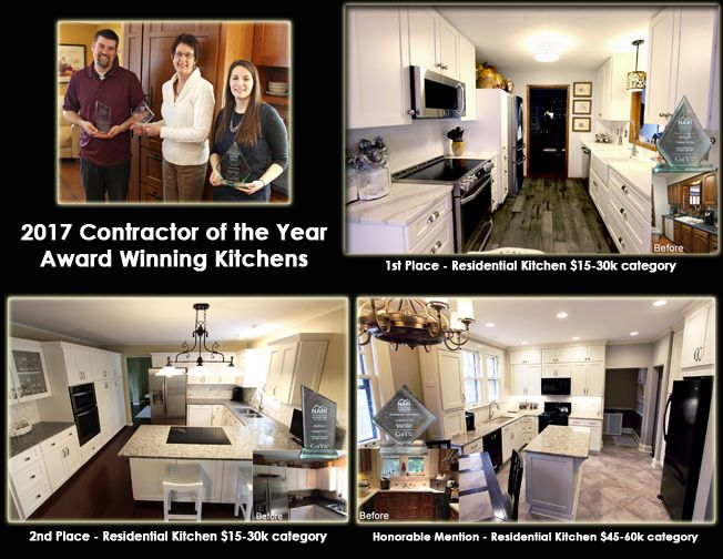2017 CotY Award winning kitchens