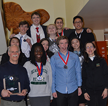 Bear Creek forensics team captures second place at Speech State Tournament