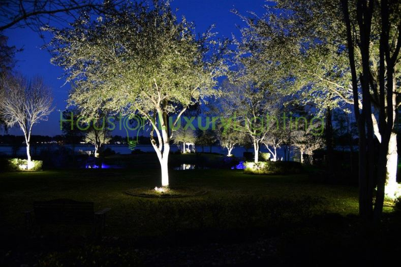 Outdoor lighting curb appeal safety security for Luxury landscape lighting