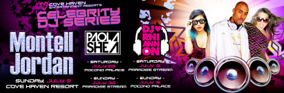 Get ready for Cove Haven's Celebrity DJ Series!