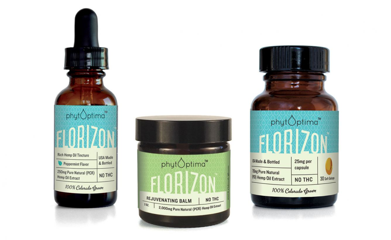 Florizon packaging for PhytOptima