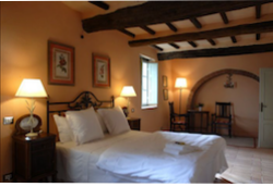 Hotel Room at Hotel Relais Laticastelli in Tuscany