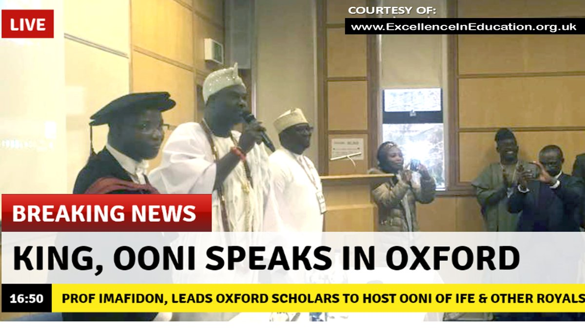 Ooni goes ahead with his historic lecture