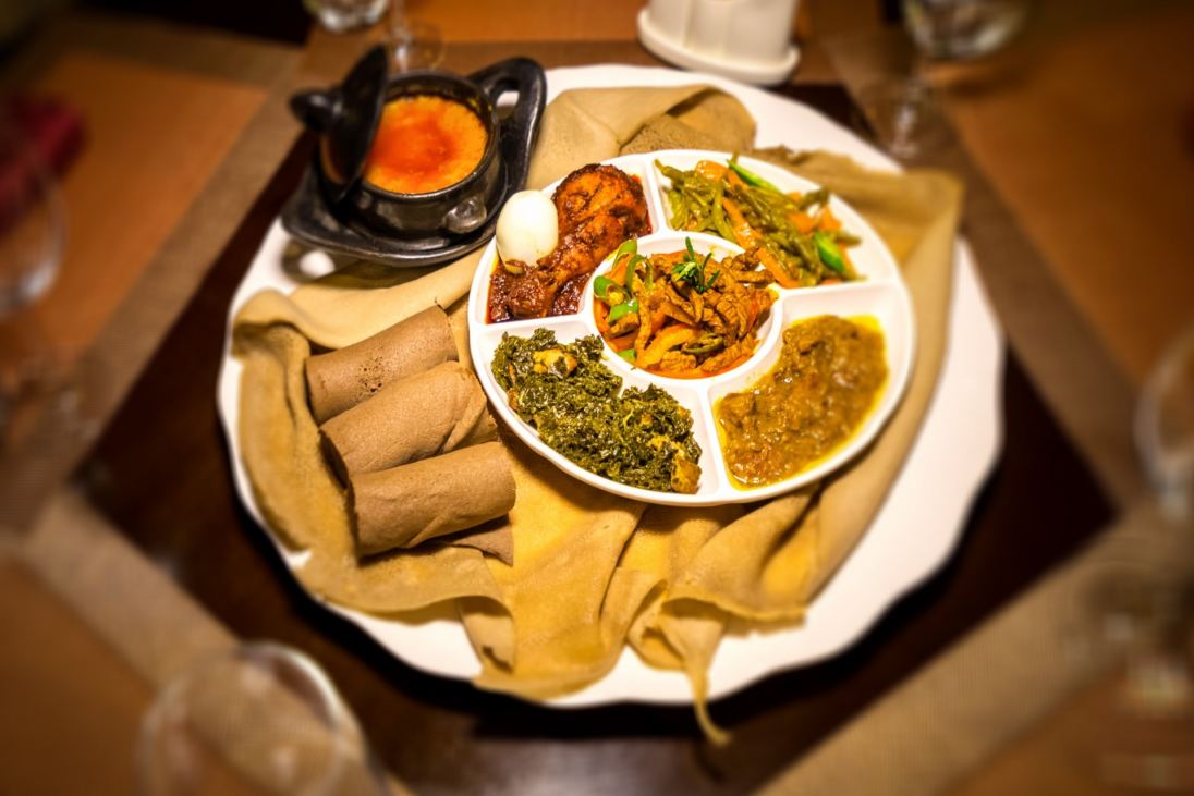 Gursha a family friendly ethiopian restaurant brings for Authentic ethiopian cuisine