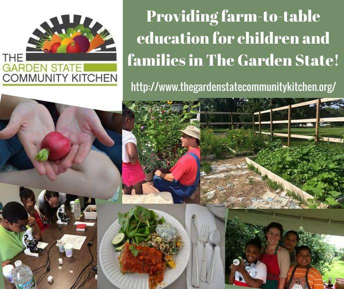 Garden State Community Kitchen Summer Program 2017