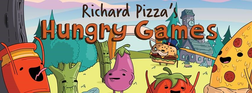 Richard Pizza's Hungry Games weaves both art and education together!