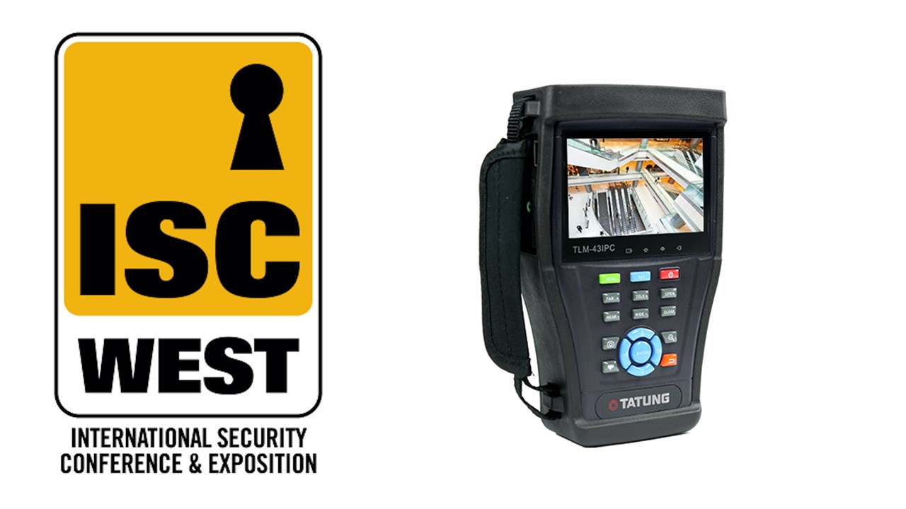 Tatung TLM 43IPC Analog Tester presented at ISC West