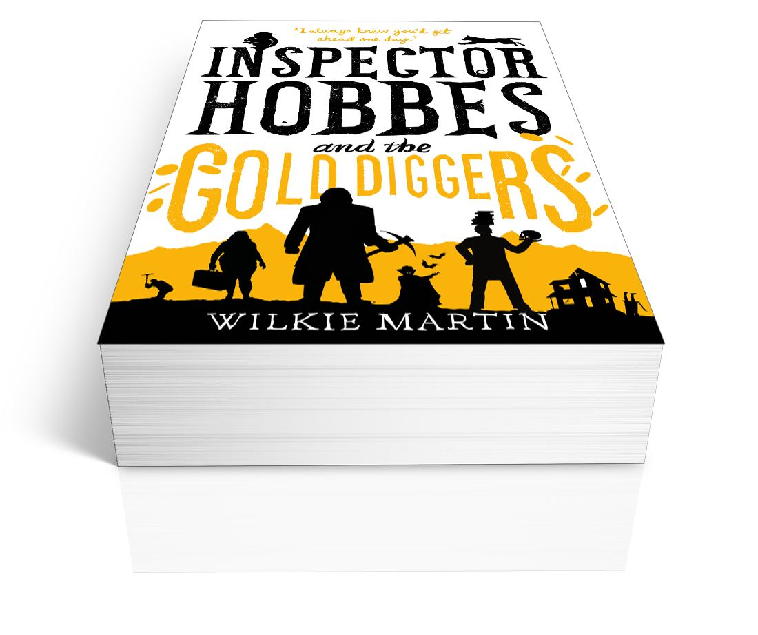 Inspector Hobbes and the Gold Diggers (unhuman III) by Wilkie Martin