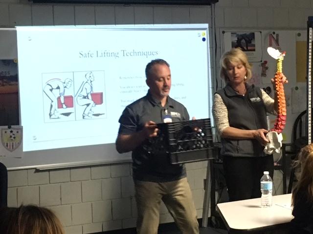Norwell High School Back Safety Program