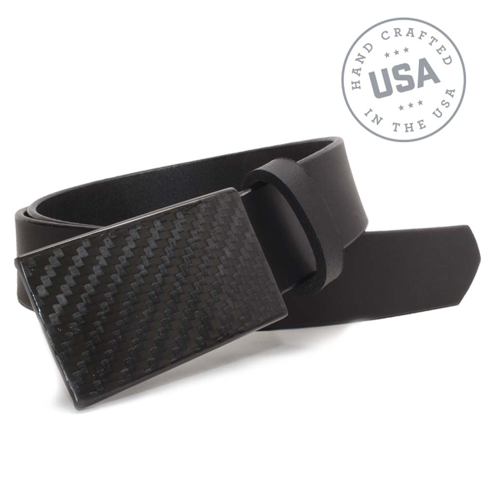 Made in USA, Nickel Free CF 2.0 Carbon Fiber Belt