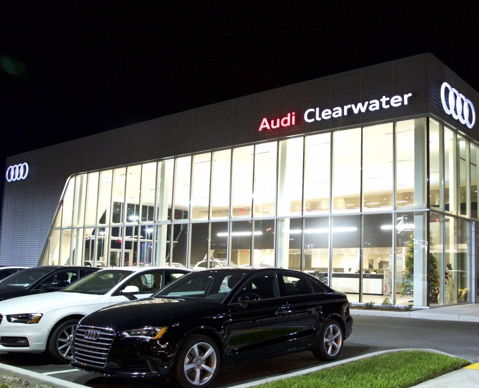 Audi of Clearwater awarded Magna Society status by Audi of America