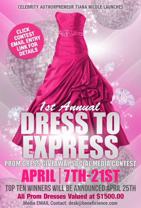 #PromDressedToExpress 2017 Social Media Prom Dress Giveaway *Contest