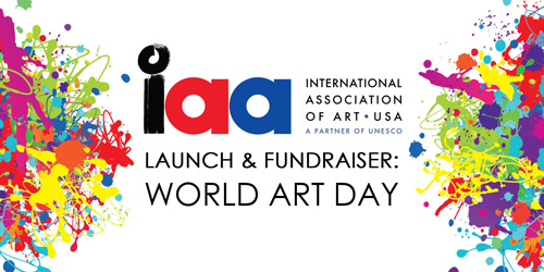 IAA USA World Art Day Launch & Fundraiser, April 15, 2017