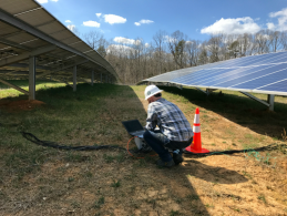 Affinity Energy's Solar String Analysis