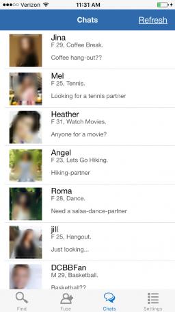 comefuse-chatlist