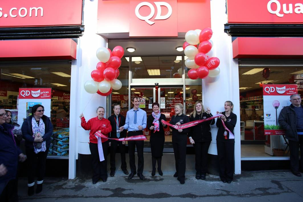 QD Stores has expanded its group with two new stores, including one in Raunds