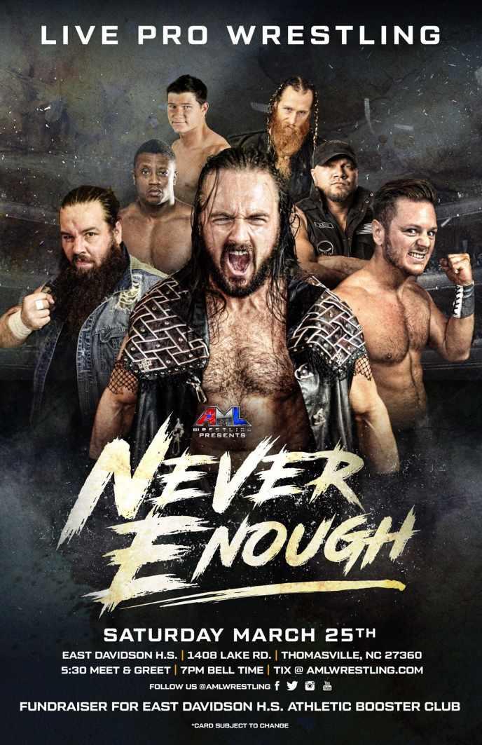 AML Wrestling Thomasville, NC