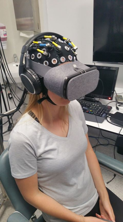 Near-infrared Spectroscopy during Liminal VR experiences