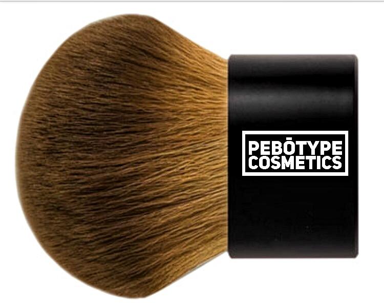 PEBOTYPE Luxury Buki Brush (Hypoallergenic)