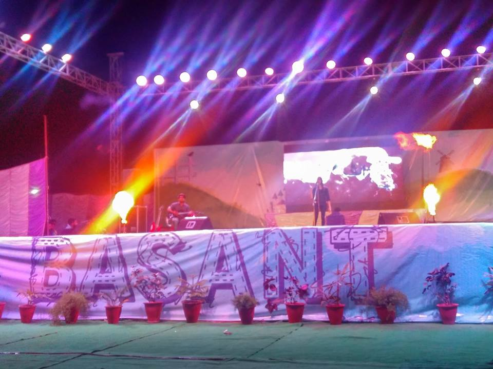 Sparkling Performances Galore at BKBIET Pilani Rituraj of Rajasthan CollegeFests
