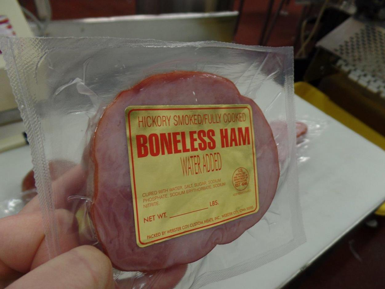Mini Easter Ham