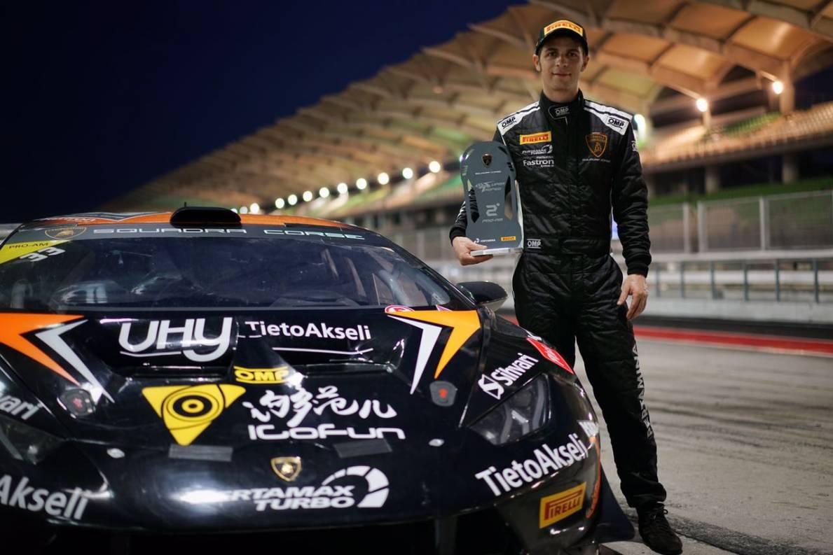Maxx Ebenal Lamborghini double podium