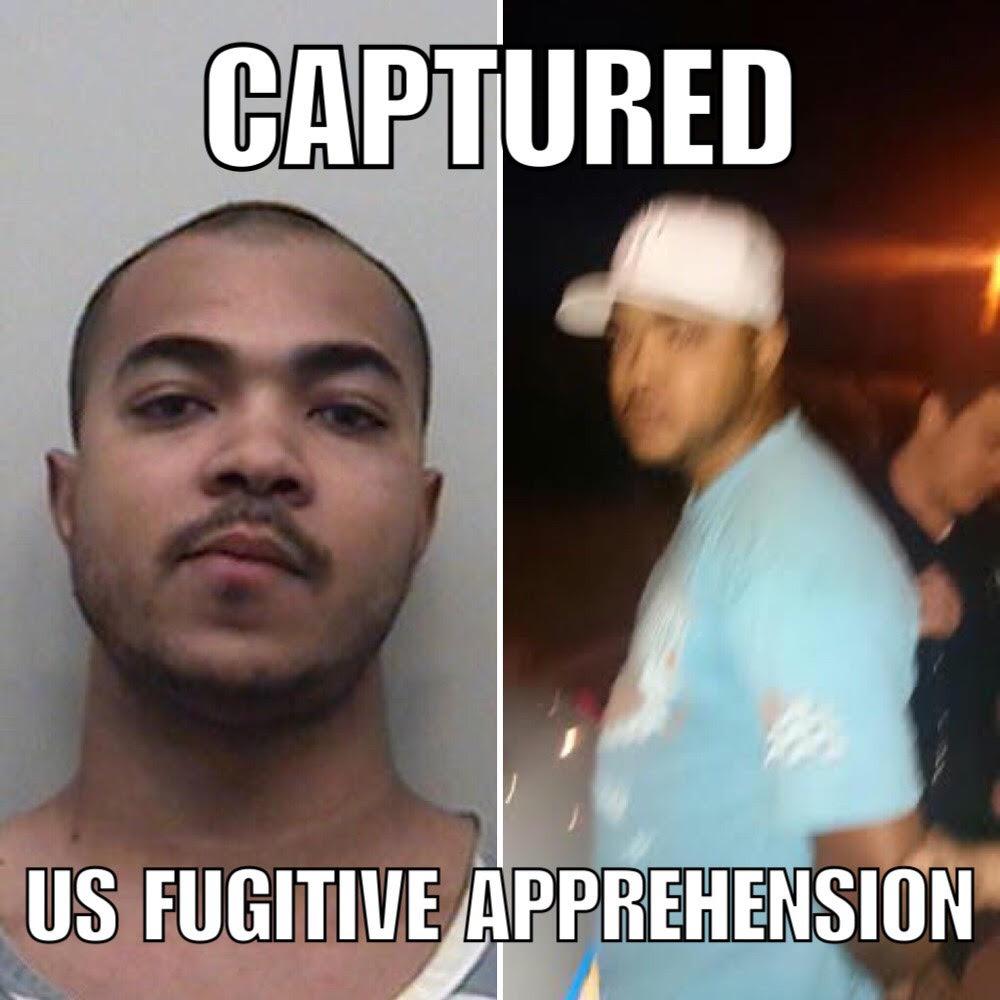 Ahmed in Custody - Photo Credit: US Fugitive Apprehension