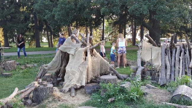 Building a natural playground