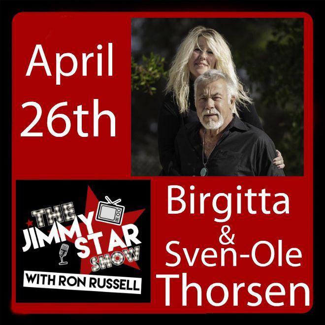 Birgitta & Sven-Ole Thorsen on The Jimmy Star Show With Ron Russell