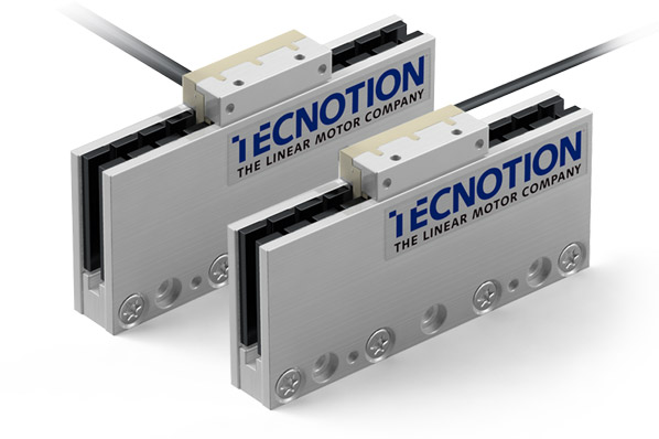 Linear motor twins UC3 (left) and UC3 inline (right)