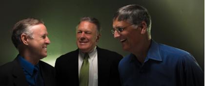 Randy Kirk, Craig Korotko, and Gary Capolino