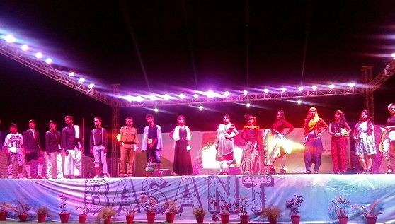 Dance Music Drama Triveni Continues at BKBIET Pilani Rituraj of College Fests