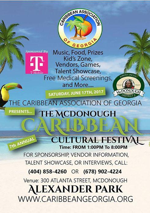 McDonough Caribbean Cultural Festival 2017