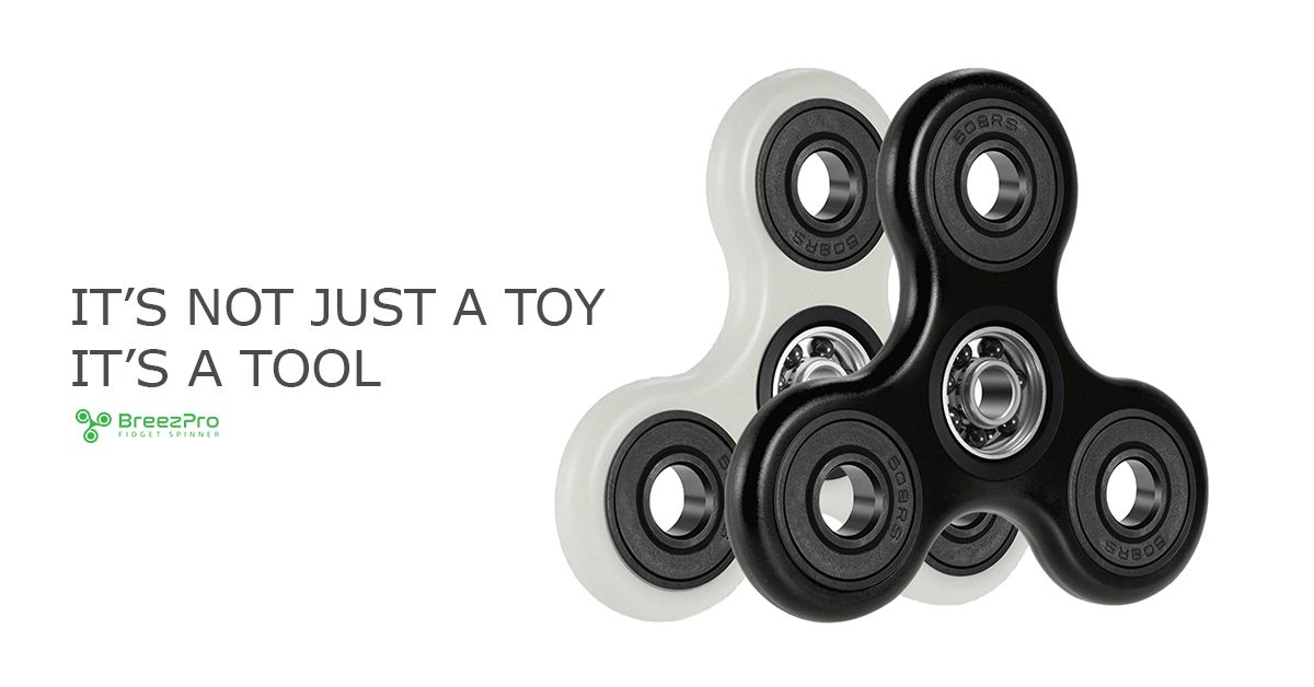 The BreezPro Fidget Spinner is exclusively available on Amazon