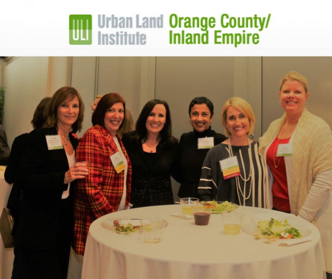 Attendees enjoying ULI OC/IE WLI event in December.
