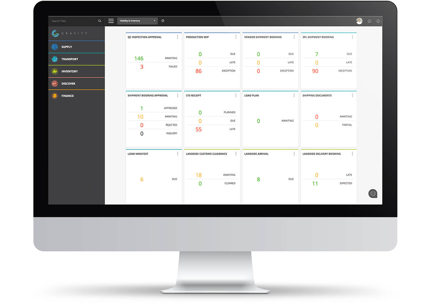 Operational Tiles automate the movement of info along the supply chain